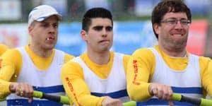 Muscle Asymmetries in Sweep Rowing