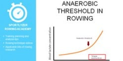 Anaerobic threshold in rowing