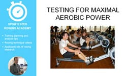 Testing for maximal aerobic power