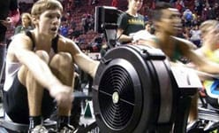 Indoor rowing – setting up the pace