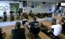 Indoor rowing video playlist