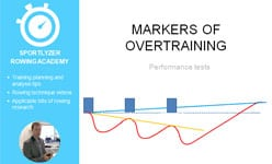 Markers of overtraining - performance tests